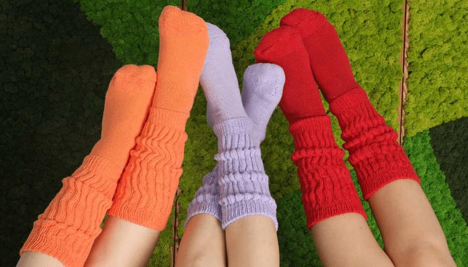 evde çorap paketleme
